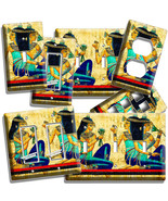 ANCIENT EGYPTIAN GIRLS HIEROGLYPHS LIGHT SWITCH OUTLET WALL PLATE ROOM A... - $8.99+