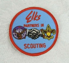 "BPOE Elks Patch ""Partners in Scouting"" Boy Scouts of America - $7.91"