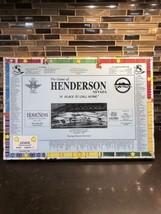 Vintage Henderson 1996 Edition Board Game Newton Navigators PTA Nevada L... - $87.99