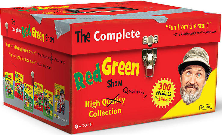 The Complete Red Green Show, High Quality Quantity Collection DVD Set [New]