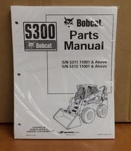 Bobcat S300 Parts Manual Book Skid steer loader 6904717 NEW - $48.76+