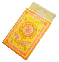 Vintage Hallmark Party Pack Invitations Retro Party Supply Cards Orange Yellow - $9.95