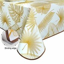 Lavin Heavy Duty Vinyl Tablecloth, PVC Oilcloth Waterproof Durable Table... - $26.39
