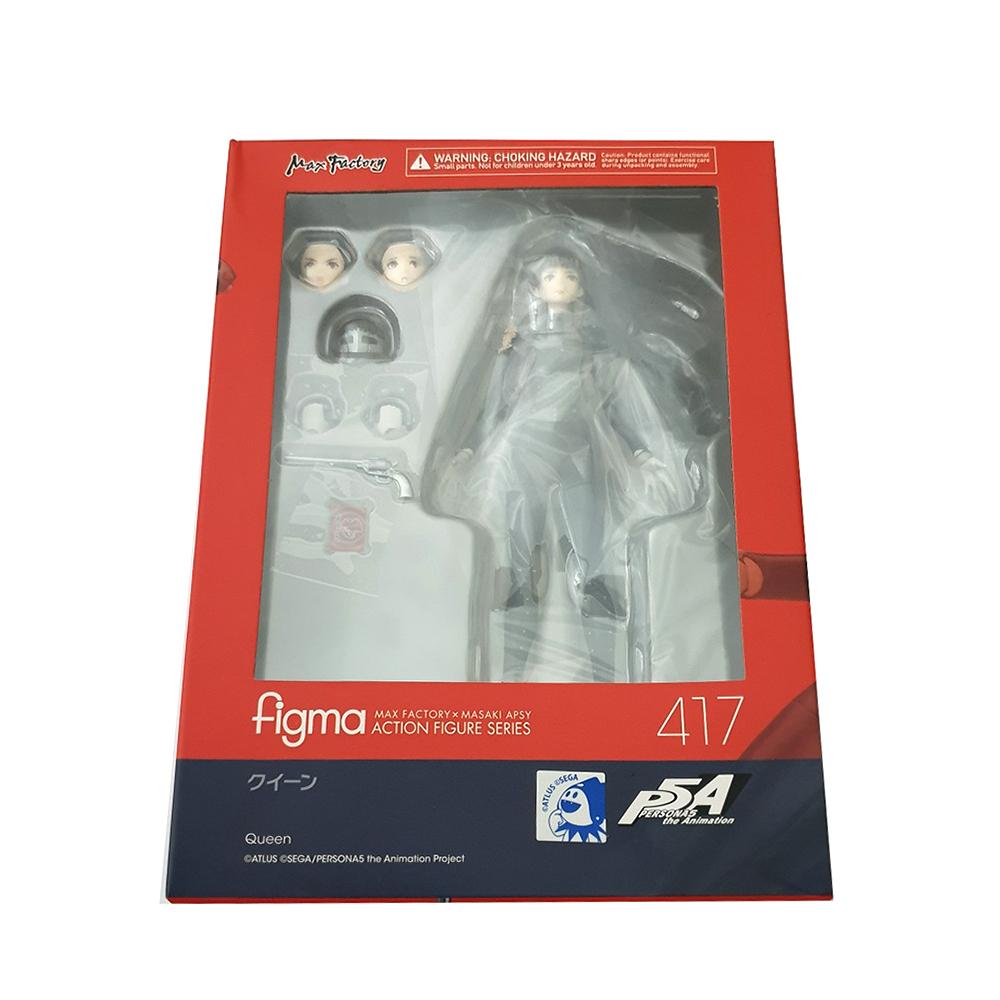 Max Factory Figma 417 Persona 5 P5 Queen Makoto Nijima Phantom Sealed Authentic - $240.00