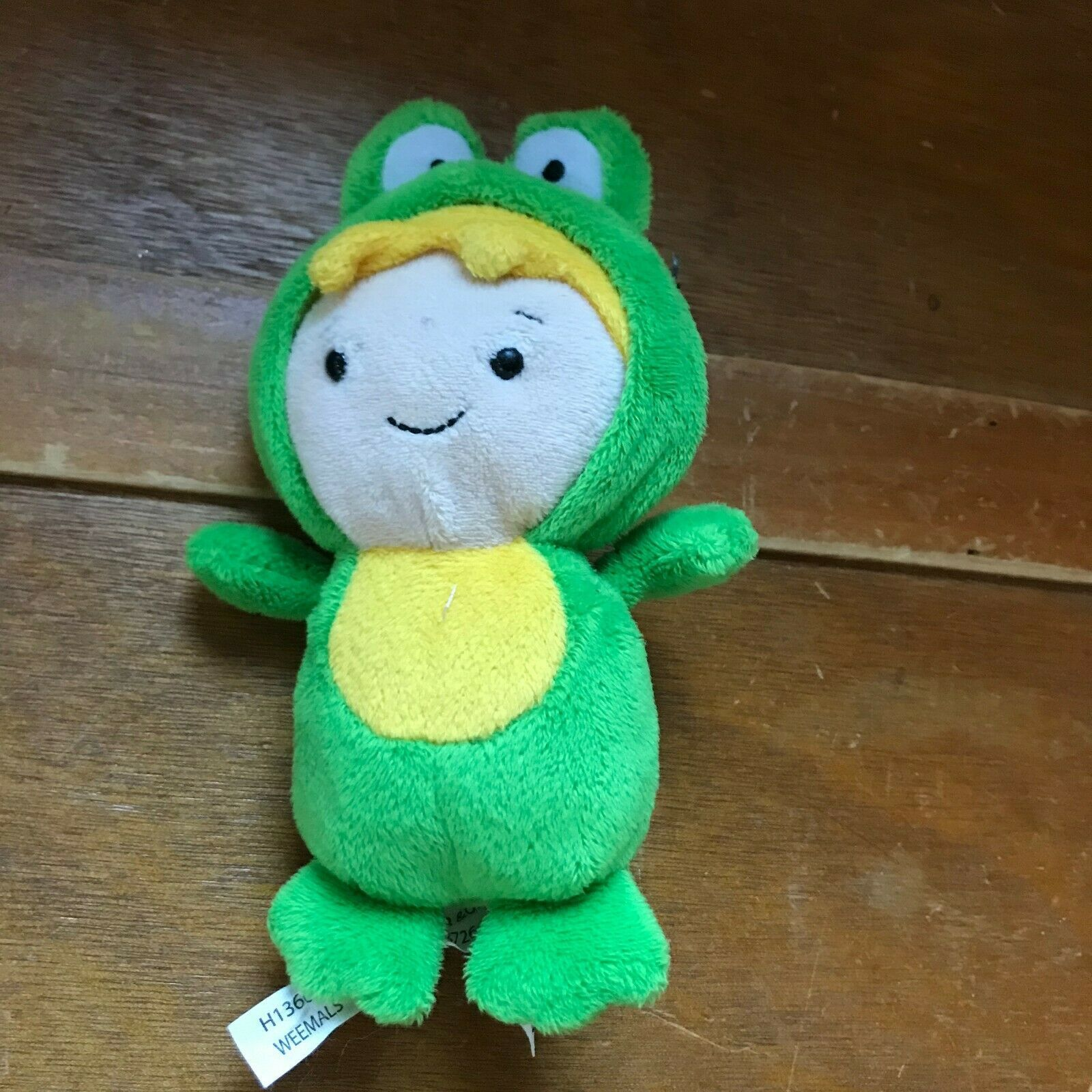 Ganz Small Caillou Friend Leo in Green Frog Costume Plush Stuffed Animal Doll –