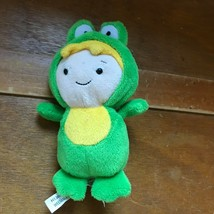 Ganz Small Caillou Friend Leo in Green Frog Costume Plush Stuffed Animal... - $8.41