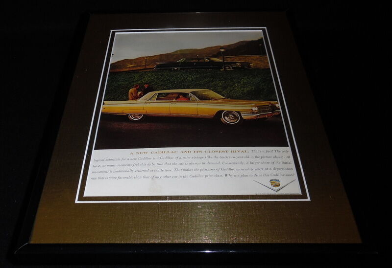 Primary image for 1962 Cadillac 11x14 Framed ORIGINAL Vintage Advertisement