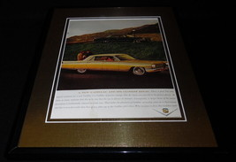 1962 Cadillac 11x14 Framed ORIGINAL Vintage Advertisement - $41.71