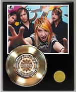 Paramore Gold Record Reproduction Signature Series LTD Edition Display - $85.45