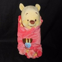 DISNEY BABIES SOFT BABY WINNIE THE POOH STUFFED ANIMAL PLUSH TOY W/ BEE ... - $21.04