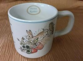 Peter Rabbit Wedgwood Childs Centennial Mug (1893-1993) Beatrix Potter B... - $17.99