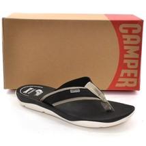 CAMPER Match Sport SANDALS Shoes Men 45 / 12 Black Slip On Flip Flop New... - $48.70 CAD