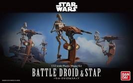 Bandai 1/12 Battle Droid and Stap Star Wars Plastic Model Kit F/S - $66.80