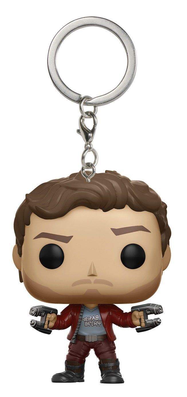 Funko Pop Keychain Guardians of the Galaxy 2 Star Lord Toy Figure