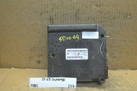 02-03 Dodge Durango Body Control Module BCM P56049073AK Unit 237-10b1 - $33.99
