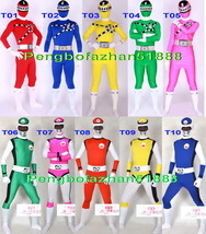 New 2 Style 10 Color Lycra Spandex Superhero Suit Catsuit Costumes Unisex S811 - $45.99