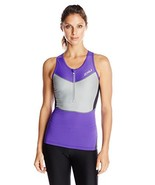 2XU Women's G:2 Compression Tri Singlet,Purple Hue/Charcoal,X-Large - $62.96