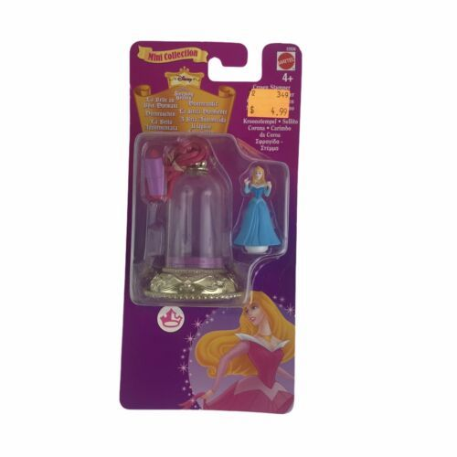 Disney 1998 Sleeping Beauty Crown Stamper Polly Pocket Blue Bird Mini Vintage - $177.48