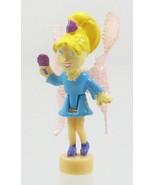 2001 Vintage Polly Pocket Dolls Garden Bloom Locket - Fairy Polly - $6.50