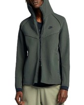 NEW NIKE NEWSPRINT GREEN TECH PACK WOVEN HOODED JACKET SIZE M - $93.54