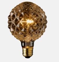 Globe Designer CRYSTALINA Clear Glass G40 Decorative Bulb 40 watts E26 84637 NEW - $13.99