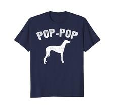 GREYHOUND POP-POP T-shirt Matching Family T-shirt Vintage - $17.99+