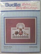 Bucilla Lullaby Baby Collection Little Girl Walking Counted Cross Stitch 40242 - $14.84