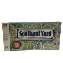 Scotland Yard Detective Board Game 1985 Milton Bradley 100% Complete - $24.99