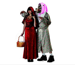 Totally Ghoul Long Sassy Red Riding Hood Women's Halloween Costume Size ... - $20.56