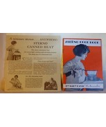 1927 STERNO COOK BOOK 16 page by Mary Davis The Barnswallow PLUS 4 page ... - $35.00