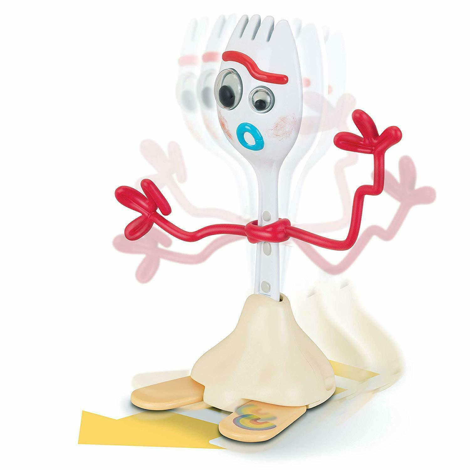 "Disney Pixar Toy Story 4 FORKY 8"" Pull & Go Figure 2019 NEW With Whacky Action! image 3"