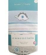 Koala Baby Essentials Short Sleeve Bodysuit Dinosaurs 4 Pack (NB) - $20.22