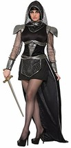 Forum 76358 Women's Knight Of Glamour Costume, Medium/Large, Multicolor, Pack of - $46.89