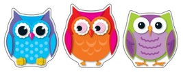 Carson Dellosa Colorful Owls Cut-Outs 120107 - $6.09