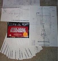 Classic Star Wars Original 1977 Blueprints Ballantine Books NEAR MINT NE... - $15.47