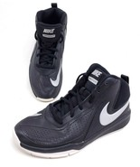 Nike Team Hustle D7 Youth Size 5Y Womens 6.5 Shoes Black 747998-001 Swoosh - $19.13