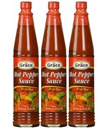 Grace Hot Pepper Sauce 3 oz Pack of 3 - $10.88
