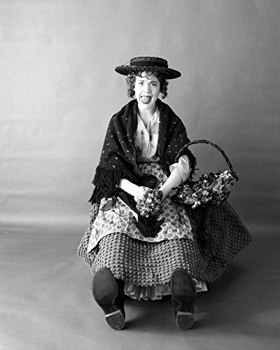 Julie Andrews Very Rare As Eliza Dolittle From My Fair Lady Stage Show Circa 196