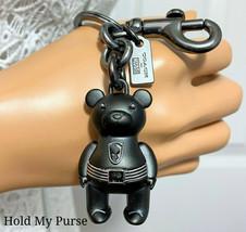 Coach Marvel Black Panther Ltd Bear Keychain Bag Charm Fob 2753 NWT - $68.00