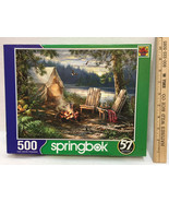 Jigsaw Puzzle Terry Redlin 500 Piece Our Friends Dogs Cats Pet Farm Barn... - $12.22