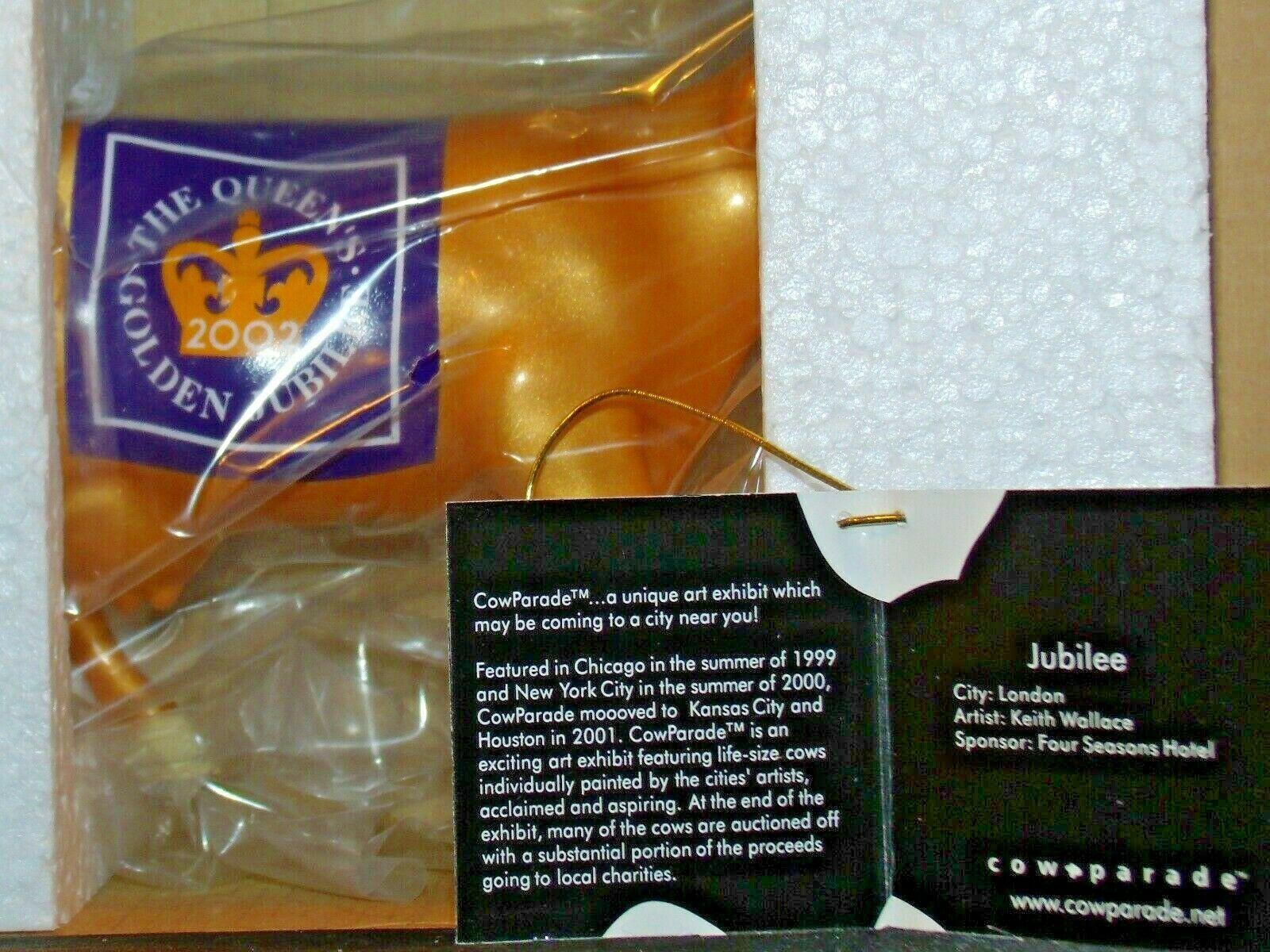 CowParade Jubilee Westland Giftware # 7320 AA-191899 Vintage Collectible