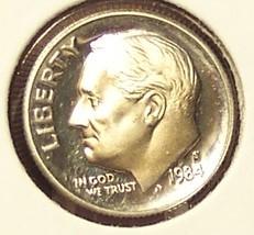 1984-S DCAM Proof Roosevelt Dime PF65 #0275 - $1.99