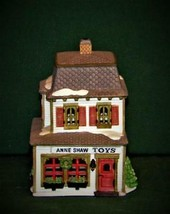 DEPT 56 - ANNE SHAW TOYS #59390 RETIRED NEW ENGLAND VILLAGE - $16.17