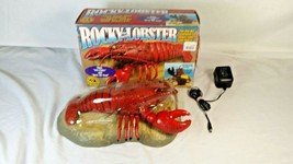 Rocky the Singing Lobster Motion Activated Animated Sings Sea Cruise Box... - $58.95