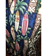Boys Teens Hawaiian Shirt Size 18 Nui Nalu Made in USA Hawaii Surfboards   - $9.99