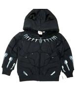 Mad Engine Marvel Black Panther Toddler Boy's Sherpa Lined Fleece Hoodie (4T) - $16.03
