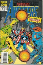 The Avengers Terminatrix Objective Comic Book #3 Marvel 1993 VERY FINE- ... - $1.99