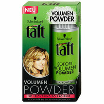 Schwarzkopf taft Volume Powder -Immediate Effect -FREE SHIPPING - $10.88