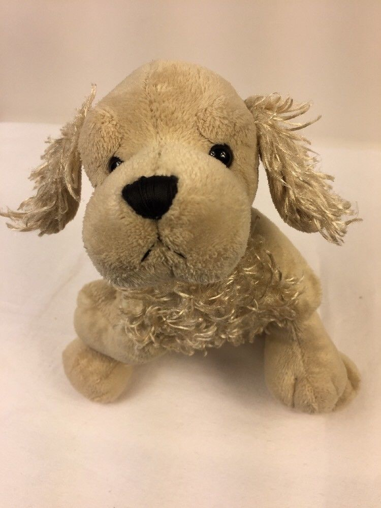 Ganz Webkinz American Golden Cocker Spaniel Dog Plush Stuffed Toy No Code HM202