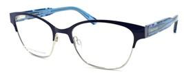 Tommy Hilfiger Th 1388 Qqu Women's Eyeglasses Frames 52-18-140 Blue - $98.80